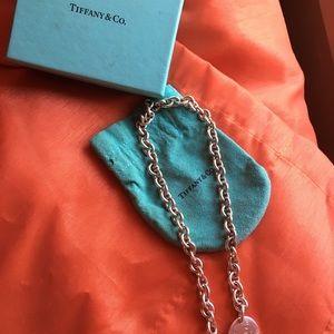 Tiffany & Co. Jewelry - Authentic Tiffany&Co silver choker.